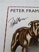 Signed Peter Frampton tour 2010