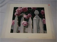 Terry Isaac Millie's garden signed and numbered