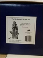 "James Christensen ""Shepherd's Wife & Child"" Figure"