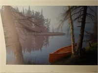"""Signed Daniel Smith """"Wilderness Sojourn"""" A.P Print"""