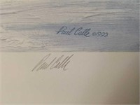 """Signed Paul Calle """"Out of Silence"""" Print"""