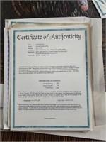 "Signed Daniel Smith ""Glidepath"" Print #466/950"
