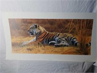 "Signed Matthew Hillier ""Golden Dawn"" Print"