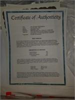 "Signed Carl Brenders ""An Autumn Gentleman"" Print"