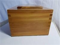 Beautiful Solid Cedar Wood Box