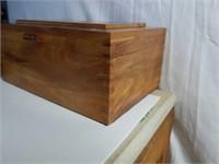 Beautiful Solid Cedar Wooden Box