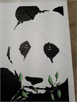 Large MacDonald Panda Print on Canvas