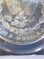 1878 Carson City PCGS MS63 Morgan Silver Dollar