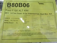 2011 FORD F150 XLT EXT CAB 4X4