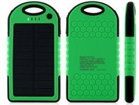 Cottee 5000mAh Dual USB Port Portable Solar
