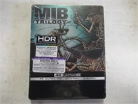 Men In Black Trilogy 4k, Blu-Ray & Digital