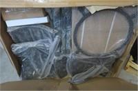 FP-271 Oval Cast Aluminum Convertible Fire Pit