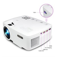 ERISAN Projector Video Home TV Theater, LED