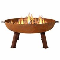 Sunnydaze 34 Inch Large Fire Pit Bowl, Outdoor