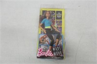 Barbie Made to Move Doll - Blue Top