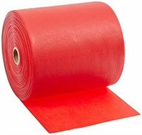 Cando 10-5622 Red Latex-Free Exercise Band, Light