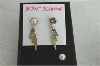 """""""As Is"""" Betsey Johnson Womens Granny Chic Colorful"""