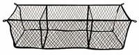 Highland (9501300) Black Three-Pocket Storage Net
