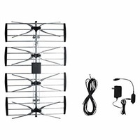 Electronic Master Outdoor TV Antenna with Booster