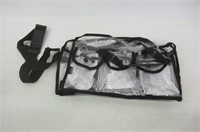 Casemetic Large Carry Clear Set Bag with 6