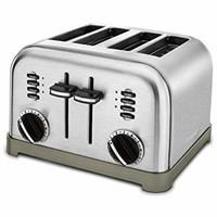 CUISINART CPT-180 Metal Classic 4-Slice Toaster,