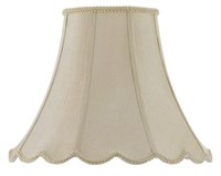 Cal Lighting SH-8105/16-CM Vertical Piped Scallop