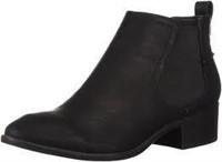 Topline Women's MAE Chelsea Boot, Black, 8.5 M US