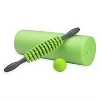 Gaiam Restore Foam Roller Relief Massage Kit (18""