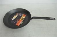 Lodge CRS12 12-Inch Diameter Seasoned Steel