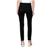 Haggar Women's Dream Jean (Petite), Black, 12P