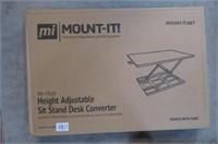 Mount-It! Ergonomic Height Adjustable Standing