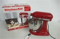 KitchenAid KSM150PSER Artisan 5-Quart Stand Mixer,