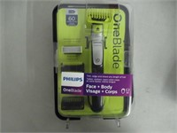 """""""Used"""" Philips OneBlade Face & Body Kit with"""