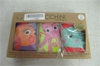 Zoocchini Girls 3 Piece Organic Training Pant