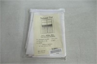 Ellis Curtain Stacey 56-by-36 Inch Tailored Tier