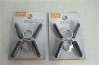 (2) CAP Barbell Standard 1-Inch Spring Clip