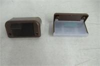Maxsa Innovations 47332 Brown Solar LED Deck Light