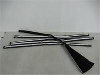 Original Blackout Pleated Paper Shade Black, 48 x