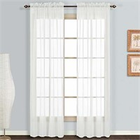 United Curtain Monte Carlo Sheer Window Curtain