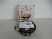 NutriChef Electric Griddle & Crepe Maker Nonstick