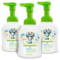 Babyganics Foaming Hand Soap, Fragrance Free, 8