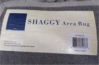 Lavish Home 62-GRE335 Shag Area Rug, Grey, 3-Feet