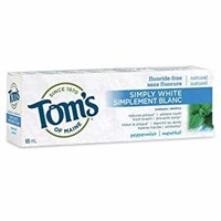 Tom's of Maine Simply White Fluoride-Free Natural