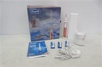 OralB 9600 Electric Toothbrush 3 Brush Heads Rose