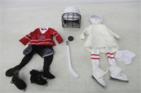 "Kindred Hearts Dolls 18"" Hockey Plus Ice-Skating"