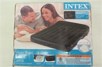 Intex Pillow Rest Classic Airbed with Built-in