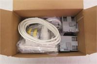 Datacomm 50-3323-Wh-Kit Flat Panel Tv Cable