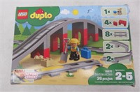 LEGO Duplo Train Bridge and Tracks 10872 Building