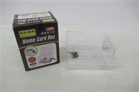 """""""As Is"""" Acrylic Donation Box - Plastic Countertop"""