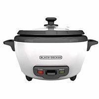 BLACK+DECKER 2-in-1 Rice Cooker and Food Steamer,